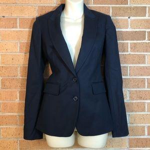 Banana Republic size 2 navy blazer jacket